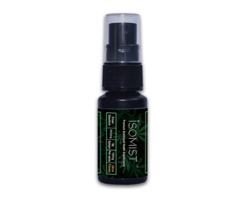 Legalised medicinal cannabis sprays/oils